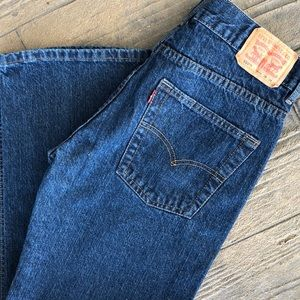 Boy's Levi's 550 Relaxed Fit Jeans Size 16 Reg